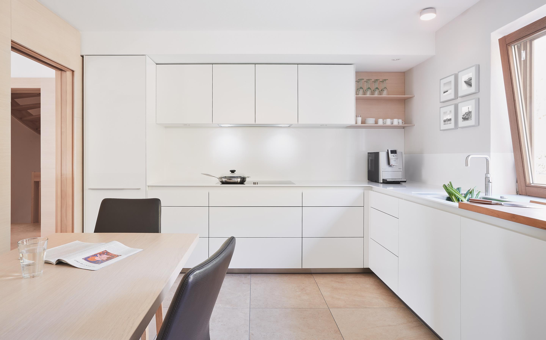 bulthaup k che gr ner. Black Bedroom Furniture Sets. Home Design Ideas